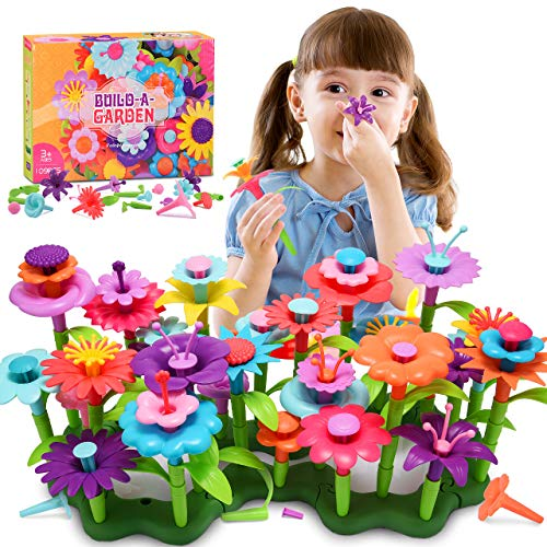 dmazing Spiele für Kinder ab 2-7 Jahren, Lernspielzeug ab 2-7 Jahren Geschenke Mädchen 3 4 5 Jahre Spielzeug für Mädchen Jungen Gartenspielzeug Geschenke für Kinder ab 3-7 Jahre 109 Stücke