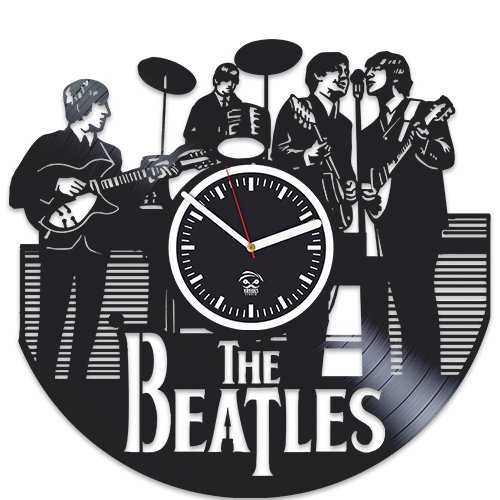 Music Legends Band Gift, Rock Fans, Vinyl Record Wall Clock, Handmade Best Gift for Fans, Vinyl Record, Silent Mechanism, Wall Sticker, Wall Art Product Name