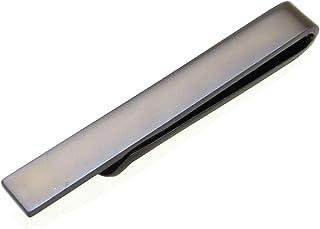 پایان بخش های فلزی نوار مردانه Skinny Tie Clip Bar - Firm Hold طراحی زیبا و ایده آل برای کراوات باریک