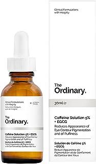 محلول الكافيين بنسبة 5% + مركب ايبيجالوكاتشين جاليت جلوكوزيد من ذا اورديناري
