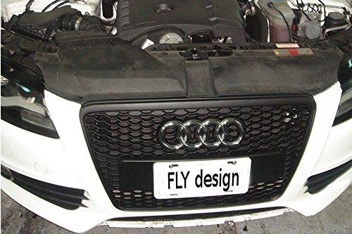 Car-Tuning24 54804961 A4 Avant vor Facelift B8 2009-12 MATT mesh Grill Grille RS sline S4 kühlergrill