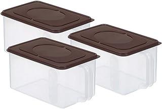 boîtes bento Réfrigérateur Organisateur alimentaire Conteneur avec couvercle poignée frais de maintien Boîte Case réfrigér...