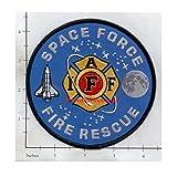 Kaewwan Shop IAFF Space Force Fire Rescue Fire Patch