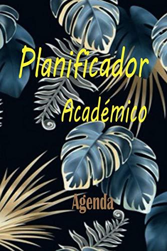 PLANIFICADOR ACADÉMICO: Libro - Agenda didáctico fácil de llenar y escribir de 120 páginas. Permite al estudiante organizar deberes, tareas ... mejoren su rendimiento escolar y notas