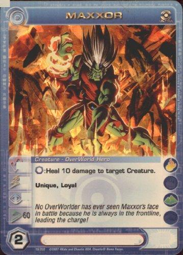 MAXXOR Chaotic Premium Edition Season 1 Ultra Rare Gold Foil Card & Unused Code (MAX SPEED 60)