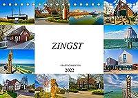 Zingst Stadtansichten (Tischkalender 2022 DIN A5 quer): Zwoelf Bilder der bezaubernden Stadt Zingst (Monatskalender, 14 Seiten )