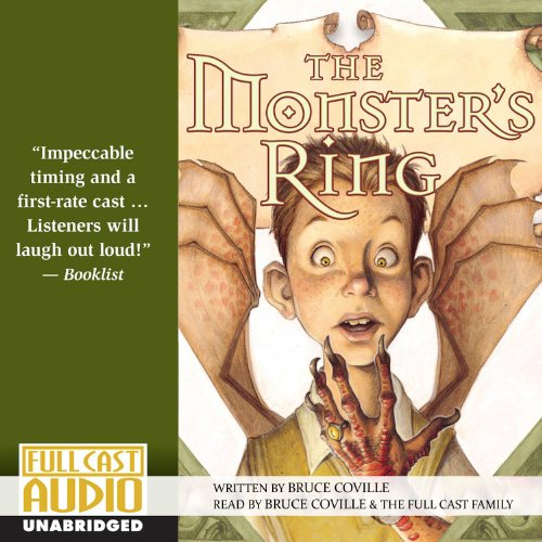 The Monster's Ring audiobook cover art