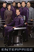Star Trek Enterprise - TV Show Poster / Print (Captain Archer & Crew) (Size: 27
