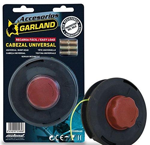 Garland 7199000460-Tête universelle pour débroussailleuse garland Charge facile