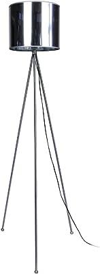 Tosel 50047 Lampadaire Tri Pied Acier 60 W E27 Blanc/Chrome