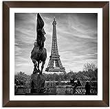 Quadro Decorativo - Paris-fotógrafo - Moldura 4 cm com Margem de 3x3
