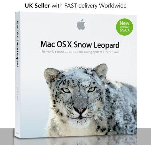 Apple Mac OS X 10.6.3 Snow Leopard Media Set