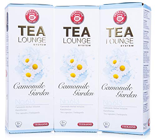 Teekanne Tealounge Kapseln - Camomile Garden No. 613 Käutertee (3x8 Kapseln)