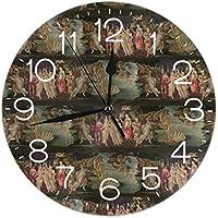 """Oh Sweety Botticelli - Reloj de Pared (Redondo, 10""""), diseño de Nacimiento de Venus"""