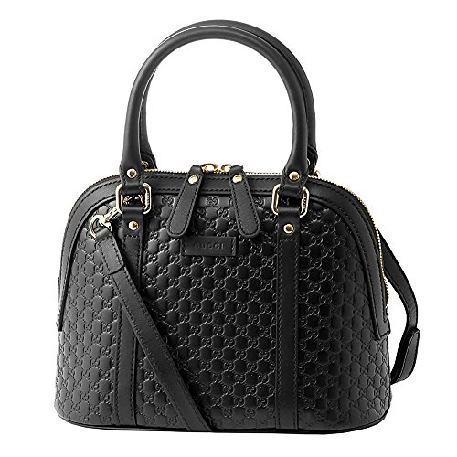 ■ Size Body size: About 19 × 23 × 10 (H × W × D unit cm) Handle height: About 9 cm Shoulder strap Length: Approx 100-110 cm Adjustable in 5 stages for every 2.5 cm Removable Body weight: Approximately 450 g ■ Color BLACK ■ Material Body: Gucci Shima ...