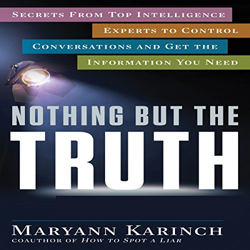 Nothing but the Truth audiobook cover art