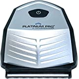 PLATINUM PRO by MANGROOMER - New Self-Haircut Kit and Advanced Hair Clippers With Lithium MAX Battery, 9 Length Guards and included Bonus Storage Case!