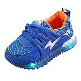 YanHoo Zapatos para niños Zapatos Antideslizantes LED para niños con...