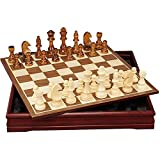 TYUIOO Sistema de ajedrez de Madera de 18