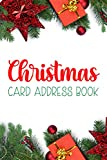 Christmas Card Address Book: Christmas Card Record Book - 5 Year Christmas Card Tracker For Holiday Cards You Send and Receive