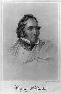 HistoricalFindings Photo: Thomas Hart Benton,1782-1858,Old Bullion,US Senator 1