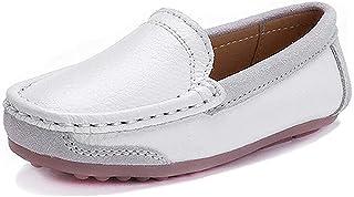 aa26fc316884c CCZZ Garçons Chaussure Bateau Cuir Mocassin Enfant Loisirs Confort  Chaussures Flâneurs Chaussures