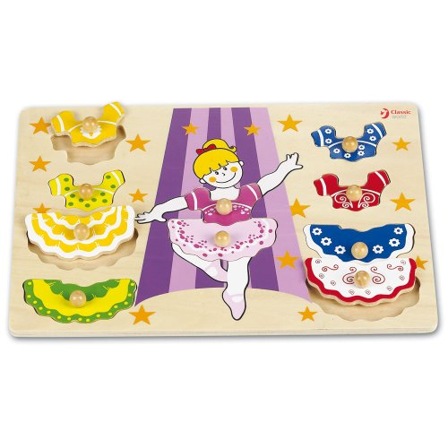 Classic World Toys - CL2084 - Puzzle - Dressing-Girl - Couleurs Assorties