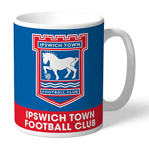 Personalised Ipswich Town FC Official Bold Crest Mug