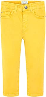 Mayoral Pantalón niño amarillo 41