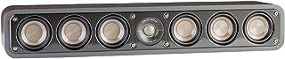 Polk Audio Signature Series S35 Center Channel Speaker (6 Drivers)   Surround Sound   Power Port Technology   Detachable Magnetic Grille