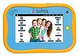 Lexibook - MFC280EN -Tablette pour les juniors - Tablette Android divertissante et ducative pour les enfants de 3 6 ans, design robuste, appareil photo frontal, contenu ducatif et amusant - Bleu / jaune
