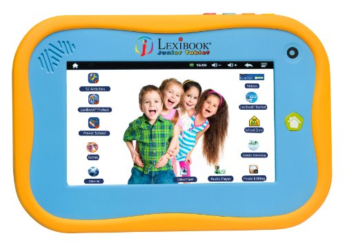 Lexibook Bluetooth tablet Junior Power Touch met capacitief scherm in Engelse versie