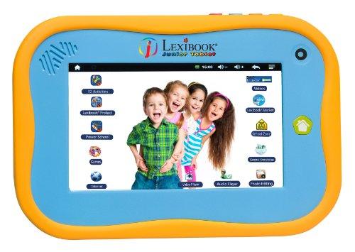 Lexibook Bluetooth Tablet Junior Power Touch mit kapazitivem Bildschirm in Englisch Version