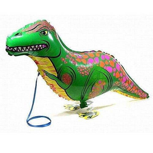 Focuspet Luftballon mit Tiermotiven, Helium-Folie, für Kinder, lustige Party-Dekoration, Dinosaurier