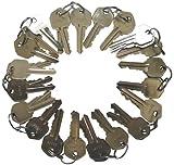 50 Precut Kwikset Keyway Kw1 5 Pins Keys 10 Sets of 5 Keys Locksmith by eBuilderDirect