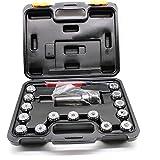 YIYIBY ER32 Spannzangen Satz Spannzangen Satz für CNC 3-20 mm MK3 M12 ER32 BT Fräse Spannzangenfutter mit Box + Schlüssel