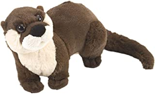 Wild Republic River Otter Plush Soft Toy, Cuddlekins Cuddly Toys, Gifts for Kids 20cm