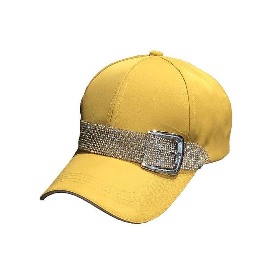 HappyERA Baseball Cap Sun Hats Casual Sport Cap with Bling Rhinestone Decor
