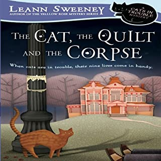 The Cat, the Quilt, and the Corpse cover art