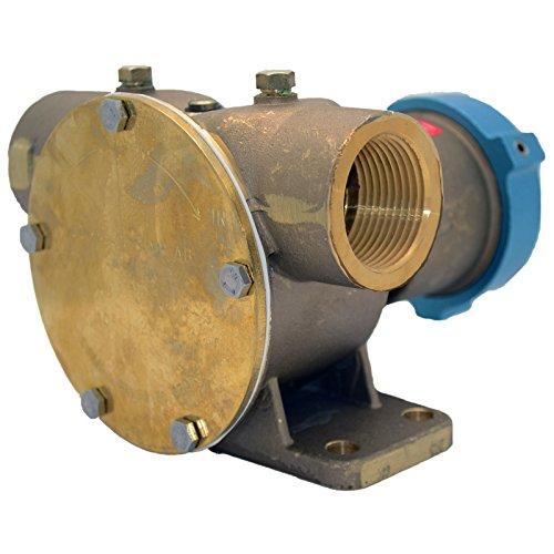 Johnson Bombas f8b-511/4-inch TNP Bomba de Embrague eléctrico con 12V 2x un Polea