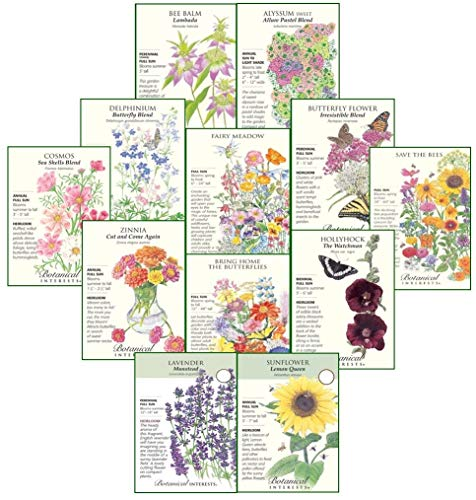 Botanical Interests - seed in gift pack