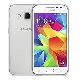 REY Funda Carcasa Gel Transparente para Samsung Galaxy Core Prime Ultra Fina 0,33mm, Silicona TPU de Alta Resistencia y Flexibilidad