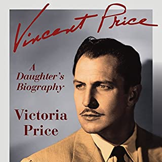 Vincent Price audiobook cover art