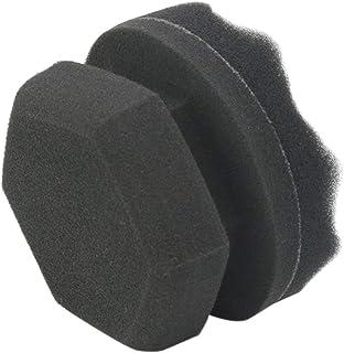 Sangmei Esponja enceradora de couro de pneu de automóvel de onda portátil de alta densidade CV#