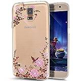 Neo Galaxy S5, Galaxy S5, ikasus trasparente, antiriflesso, antigraffio, Ultra sottile e flessibile, in gomma morbida in TPU con Bumper-Custodia protettiva morbida in Silicone con cornice paraurti, per Samsung Galaxy S5 G900/S5 SM-G903F Neo