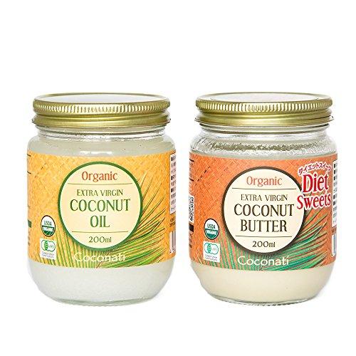 ココナッツオイル(200ml)&ココナッツバター(200ml)