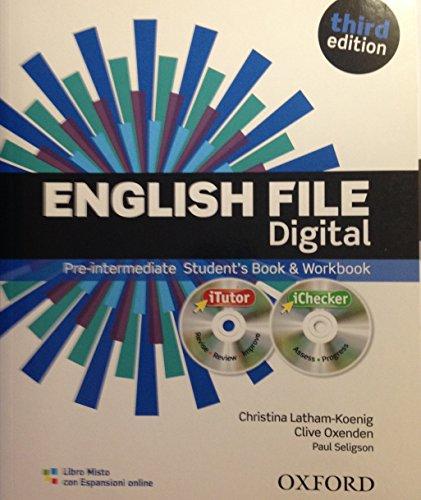 English file digital. Pre-intermediate. Per le Scuole superiori