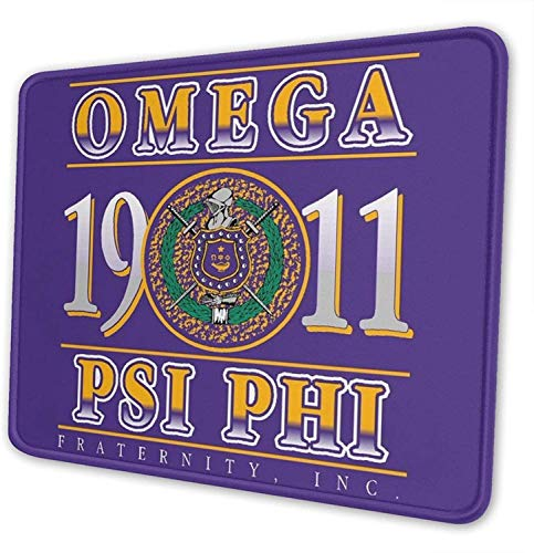 Star Heaven Omega-Psi-Phi Gaming Mouse Pad Large Wrist Support Office Home Wrist Pad for Men Teens Women 10x12 Inch