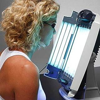 Lampe de bronzage visage avec 12 tubes phosphorescents pour solarium