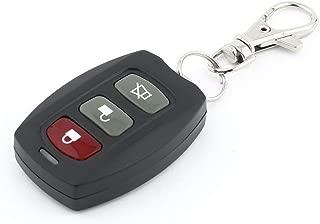 Birdlantern Wireless 3 Buttons Remote Control Car Key Duplicator Adjustable Frequency Electric Gate Garage Door Keychain LXF-105B(ブラック&シルバー)